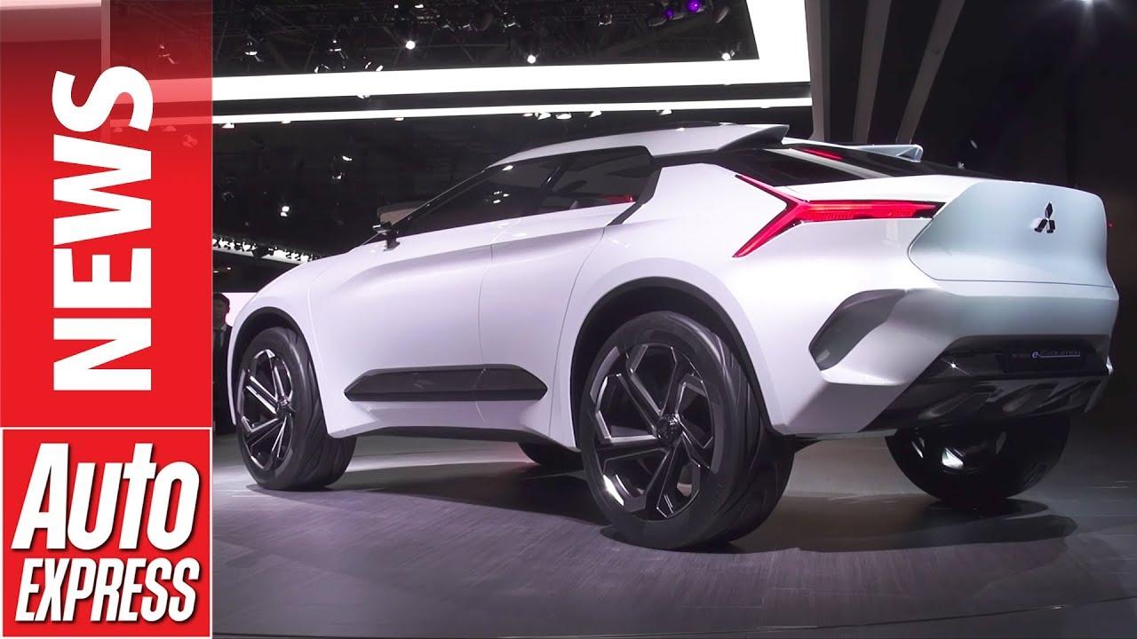 Mitsubishi evo returns in e evolution electric concept for Mitsubishi motors customer service