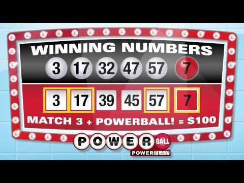 Michigan Lottery Powerball Lottery