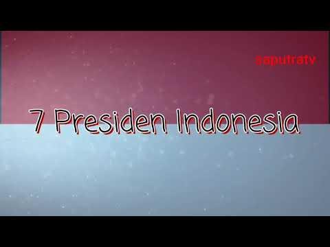 Lagu tentang 7 presiden Indonesia