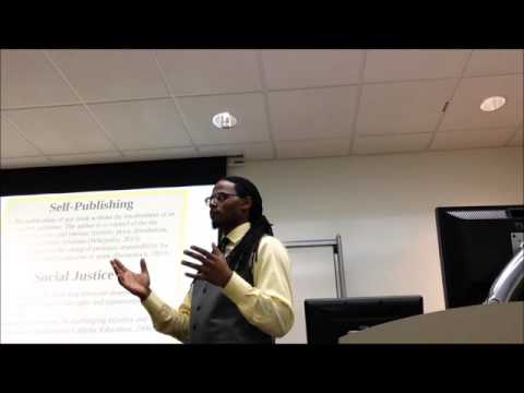 Self Publishing And Social Justice Part 1
