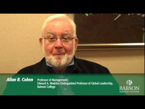 Influencing Up: Babson Professor Allan Cohen - YouTube