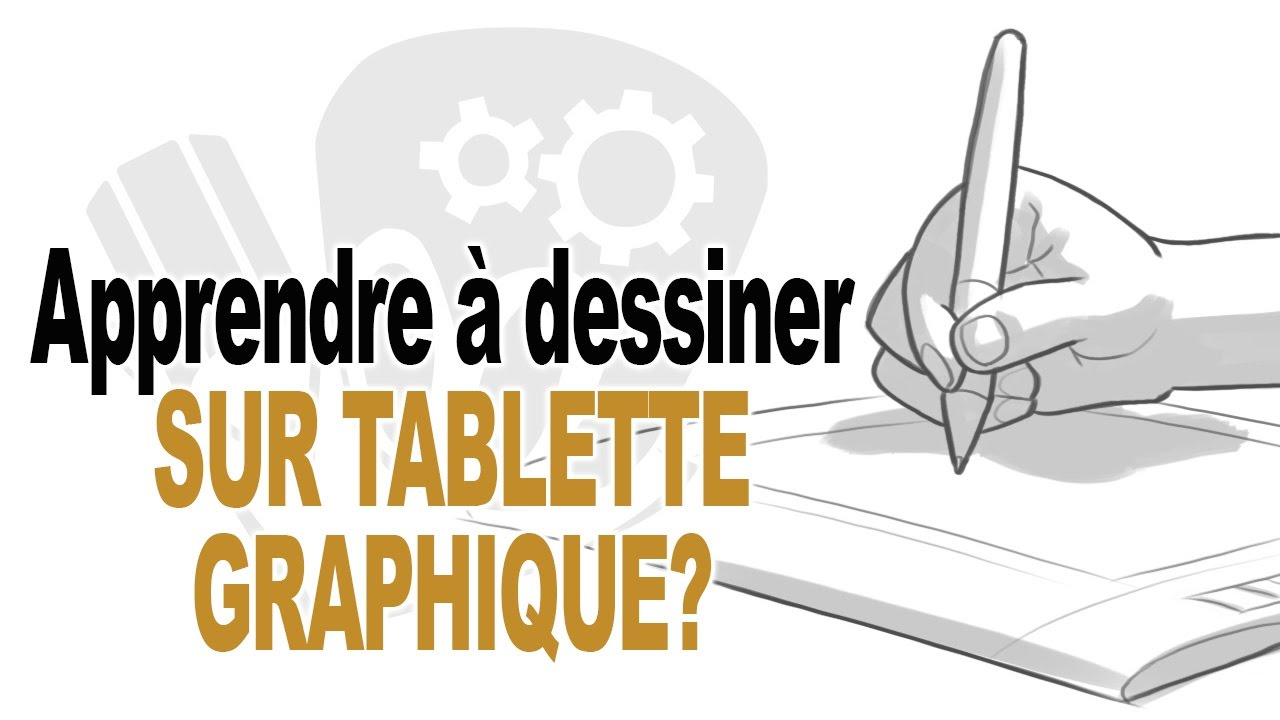 apprendre dessiner sur tablette graphique youtube. Black Bedroom Furniture Sets. Home Design Ideas