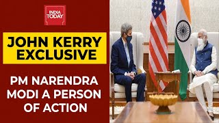 India's Role On Climate Change Significant, PM Modi A Person Of Action, Says John Kerry | EXCLUSIVE