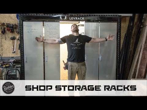 The Ultimate Shop Storage Solution