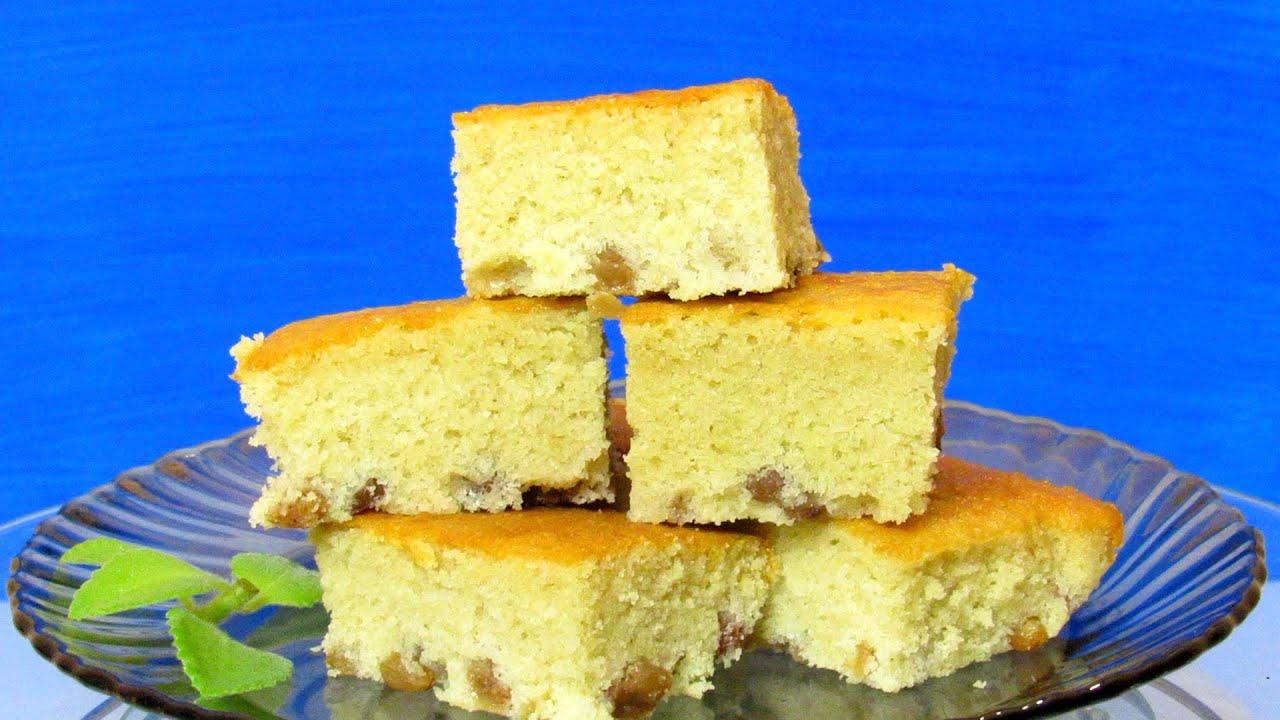 How To Make Easy Raisin Sponge Cake Quick Amp Easy