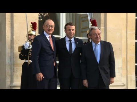Sommet Climat: arrivées de Jim Yong Kim et Antonio Guterres