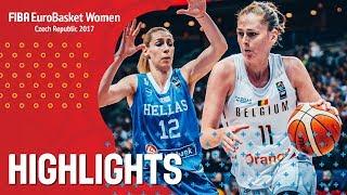 Belgium v Greece - Хайлайты - 3rd Place - FIBA EuroBasket Women 2017