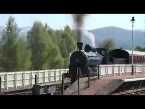Strathspey Railway STEAM Aviemore Scotland