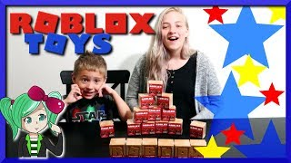 Unboxing *18* Roblox Series 2 Blindboxes! Game Related Toy Videos, SallyGreenGamer and Family!