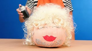 This Dolly-Inspired Pumpkin Has Rhinestones & Big Hair | Southern Living