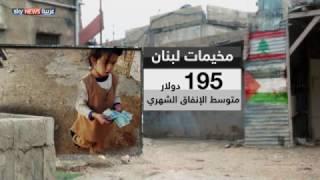 الفقر والبطالة يسيطران على مخيمات اللجوء الفلسطينية في لبنان