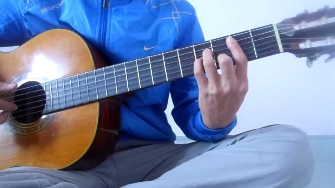 Tiếng mưa đêm (Đức Huy) – Hướng dẫn đệm guitar