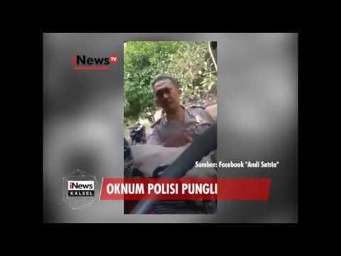 OKNUM POLISI PUNGLI VIRAL DI MEDSOS