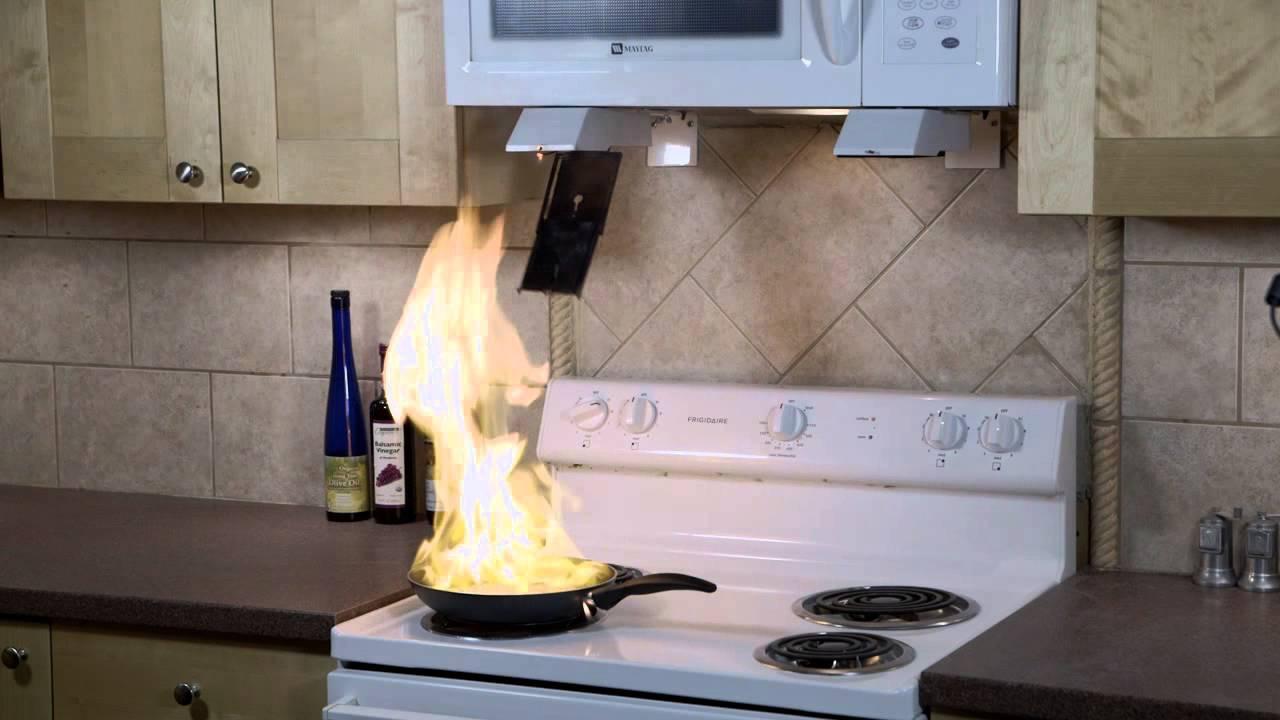 Stovetop Firestop Microhood Demonstration Youtube