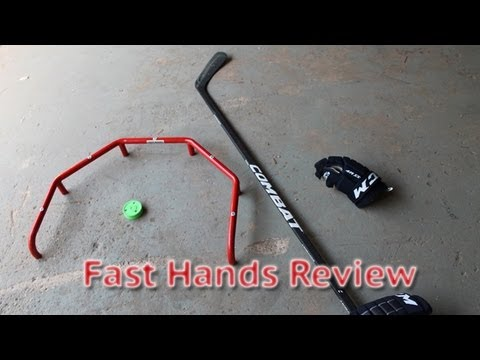 Fast Hands Review Ice Hockey Stickhandling Trainer Training Aid - Stick handling off ice