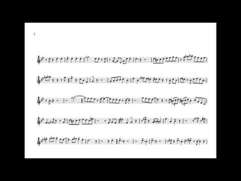 Nat Adderley 'Mean To Me' Cornet Solo Transcription