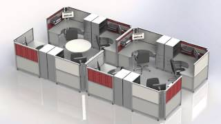 Workspace Solutions & Portable Office Cubicles | Swiftspace