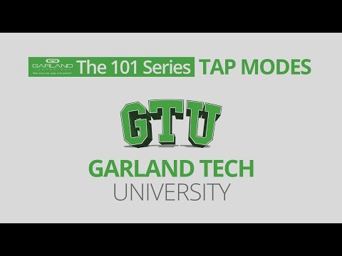 The 101 Series: TAP Modes