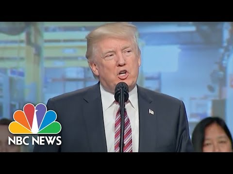 President Donald Trump Addresses National Association of Manufacturers (Full) | NBC News