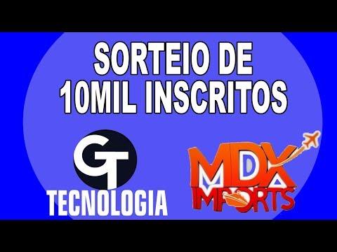 SORTEIO de 10 MIL INSCRITOS G Tecnologia e MDX Imports
