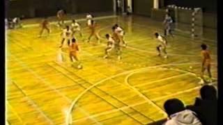 1993年関東学生ハンドボールリーグ春季 日体大vs法政大・