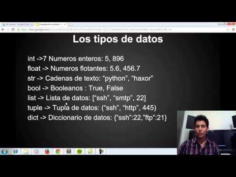 1. Hacking con Python - Introducción.