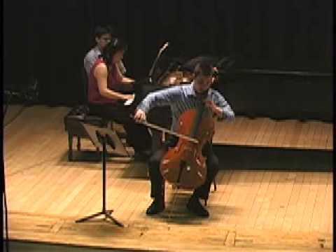 César Franck Sonata in A Major, M1 ~ Jonah Ellsworth, cello; Heng-Jin Park, piano