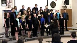 """Ave Maria Gratia Plena"", sung by Iowa City Regina Chamber Choir, 4/6/2013"