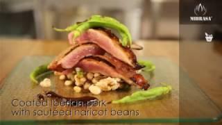 Рецепты для хоспера: Мясо иберийской свиньи с фасолью