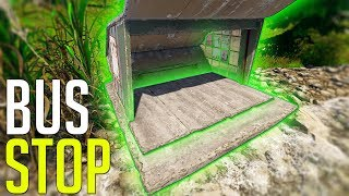 RUST - The Most AMAZING 200 IQ BUS STOP BASE Ever!!