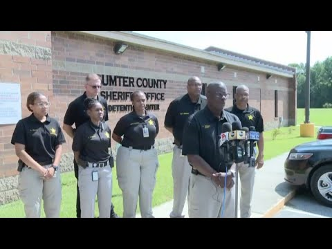 RAW VIDEO: Sheriff Anthony Dennis on escape, capture of Sumter County inmate