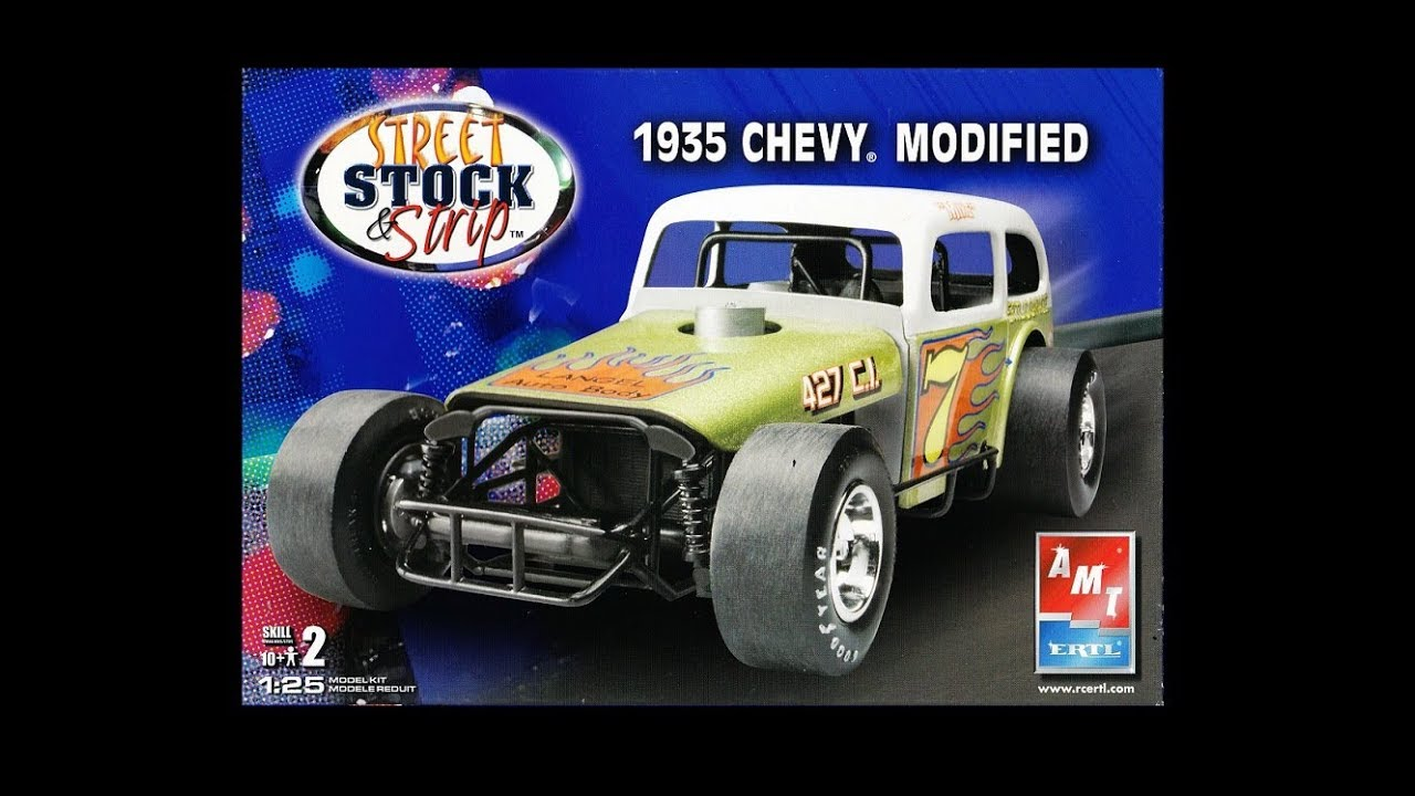 What's In The Box? AMT 38532 1935 Chevrolet Modified Model Kit