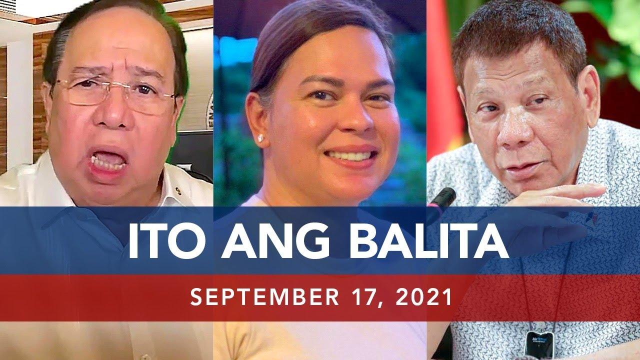 Download UNTV: ITO ANG BALITA | September 17, 2021