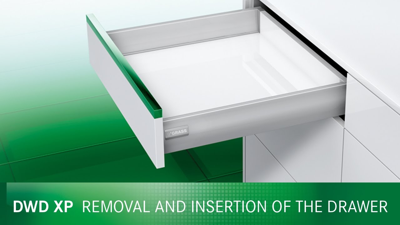 Unterbau Schublade Ikea Dwd Xp Inserting And Removal Of The Drawer