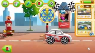 ГРЯЗНАЯ ГОНОЧНАЯ МАШИНА  Игры гонки на машинах  Гонки мультики  Игры машинки