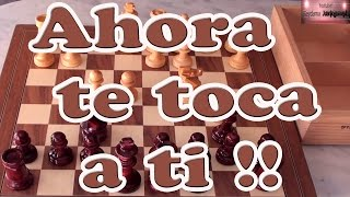 Ahora te toca a ti !! Trampa de ajedrez chess