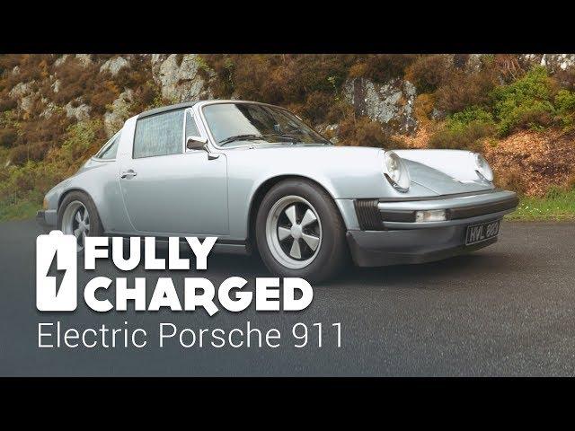 A Tesla Battery Pack Mutes This Classic Porsche S Flat Six Engine