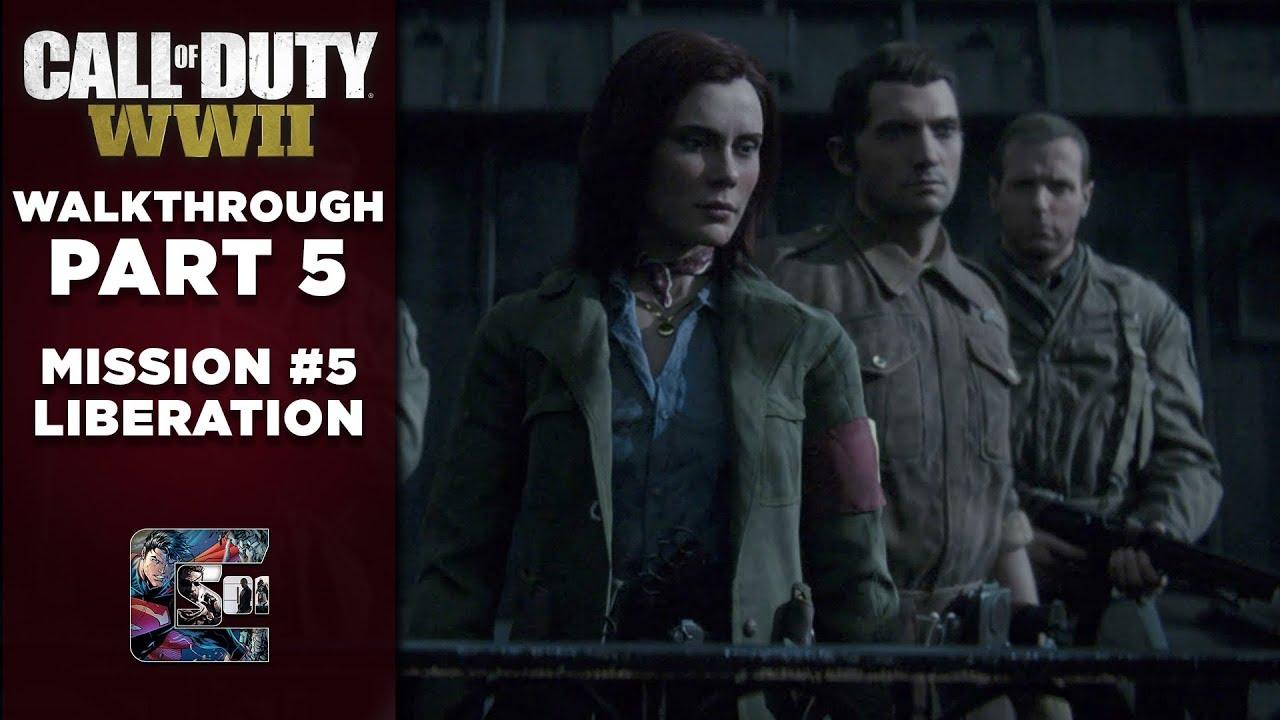 Call of Duty: WW2 | Gameplay Walkthrough | Part 5