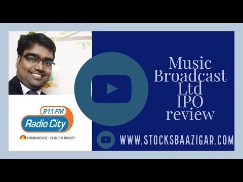 Music Broadcast Ltd IPO review by Stocksbaazigar