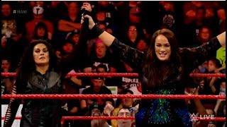 Tamina vs Ember moon 11/12/2018: RAW (full match)