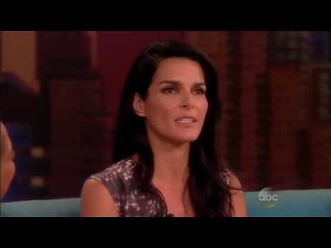 Angie Harmon on The View 61714
