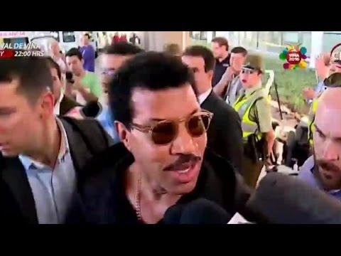 Lionel Richie llegó a Chile prometiendo un show fantástico - Matinal de CHV