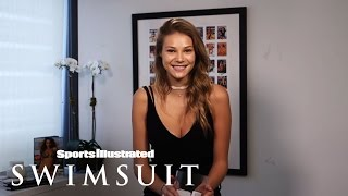 Caroline West's Views On Online Dating | Sports Illustrated Swimsuit Casting 2016