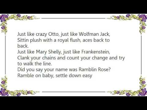 Grateful Dead - Ramble on Rose DVD Lyrics