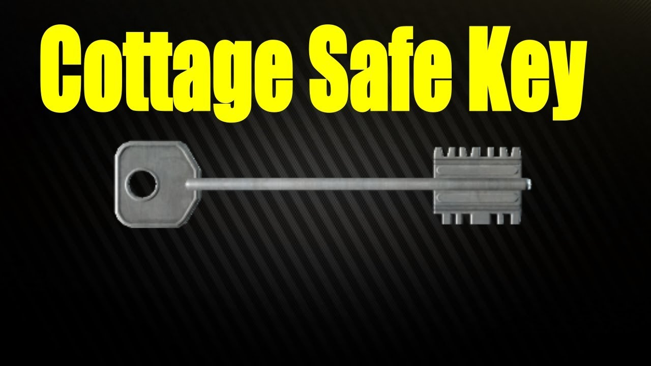 tarkov safe key