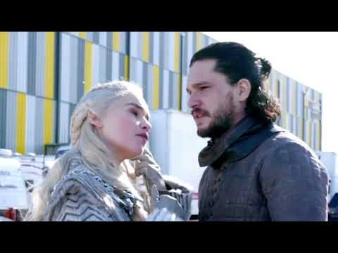 Game Of Thrones Season 8 Behind The Scenes With Emilia Clark and Kit Harrington GoT8 Teaser