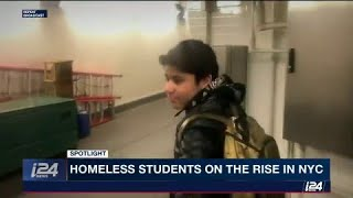 Number of homeless school children on the rise in NYC