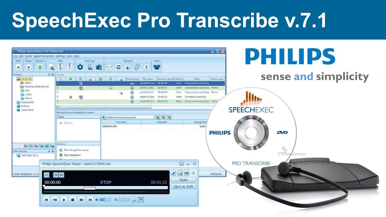 speechexec pro transcribe