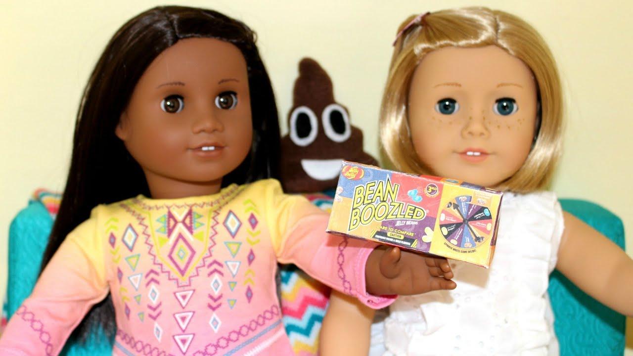 DIY American Girl Doll Beanboozled Game - YouTube