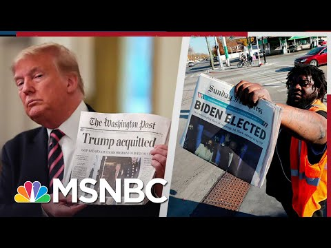 Senators Who Urged Voters To Decide Impeachment Won't Admit Trump Lost The Election | All In | MSNBC
